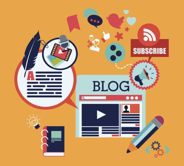 einen blog erstellen
